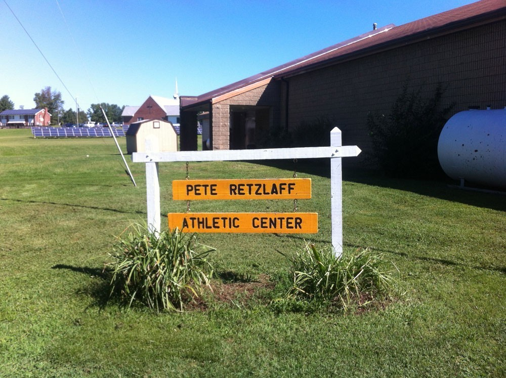 Athletic Center sign