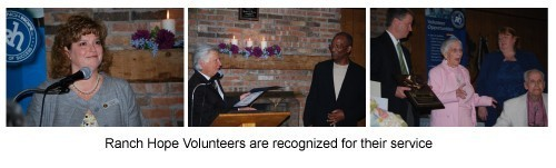 volunteers recognized 99 105 - Get Involved