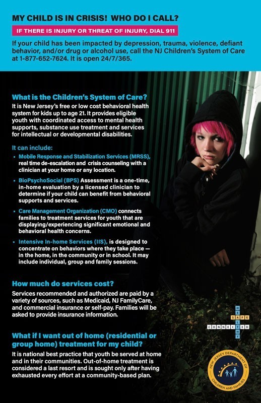 CSOC Quick Facts 050120 0022 - My Child is in Crisis! Who do I Call?