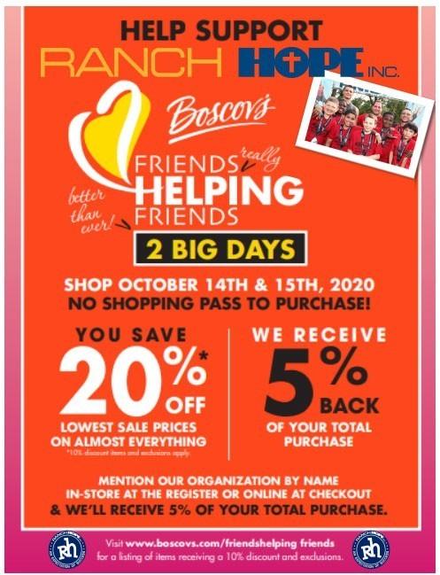 2020 Boscovs RH - Friends Helping Friends