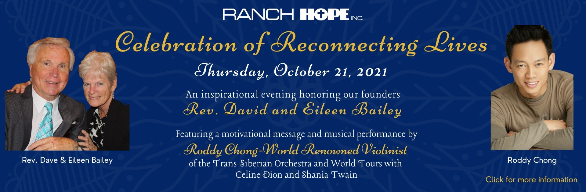 Celebration of Reconnecting Lives